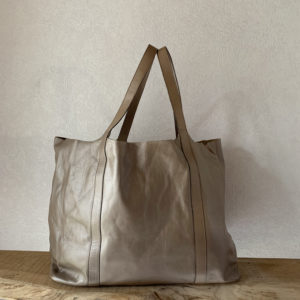 Sac à main André – Large beige