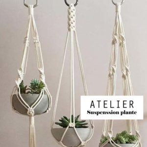 Atelier DIY – Suspention pour plante
