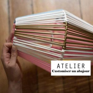 Atelier DIY – Customisation d'un abat-jour